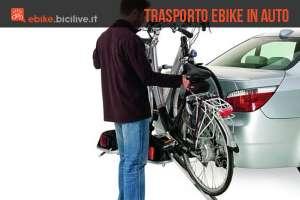 Una guida per il trasporto delle bici elettriche in auto