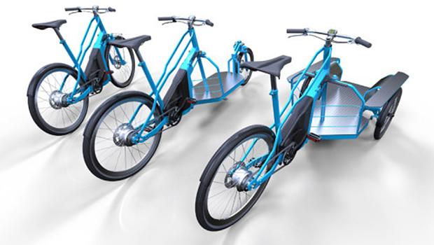 Pro E Bike Trasporto Merci Urbano Su Cargo E Bici Elettriche
