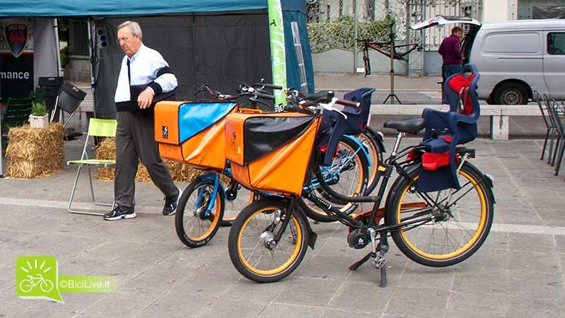 Le bici elettriche di BICICAPACE