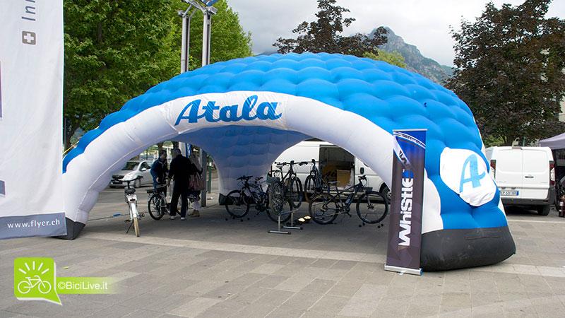 Lo stand Atala a BikeUp 2014