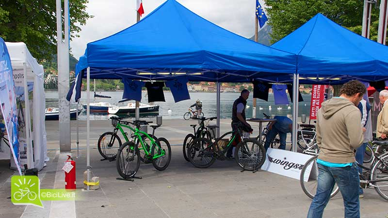 Lo stand Wings a BikeUp 2014