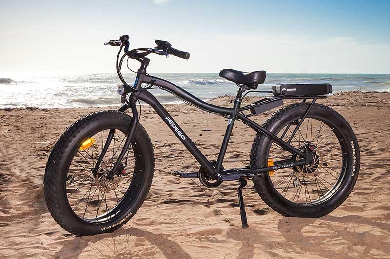 Una bici elettrica Pedego