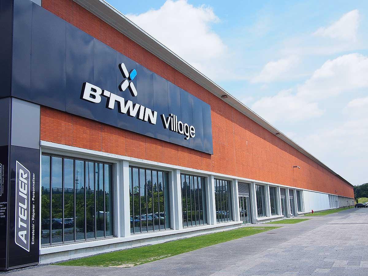 L'ingresso del B'Twin Village a Lille