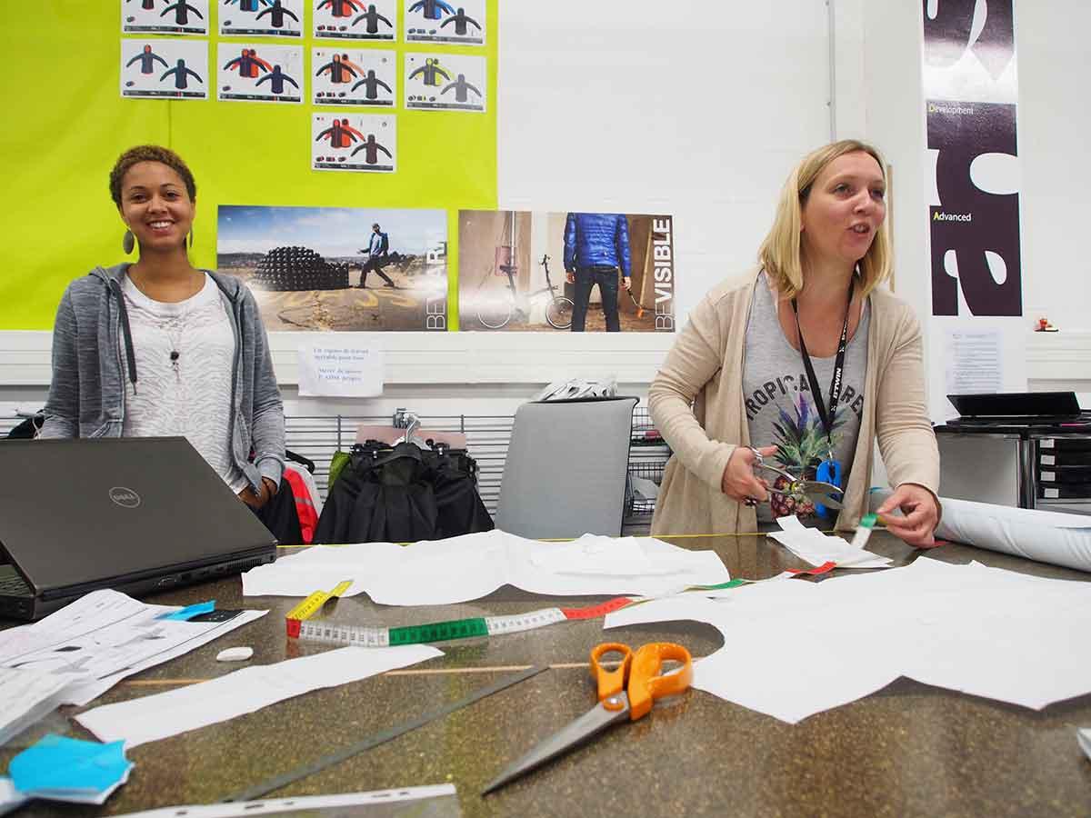L'Atelier dove si sviluppo l'abbigliamento b'Twin