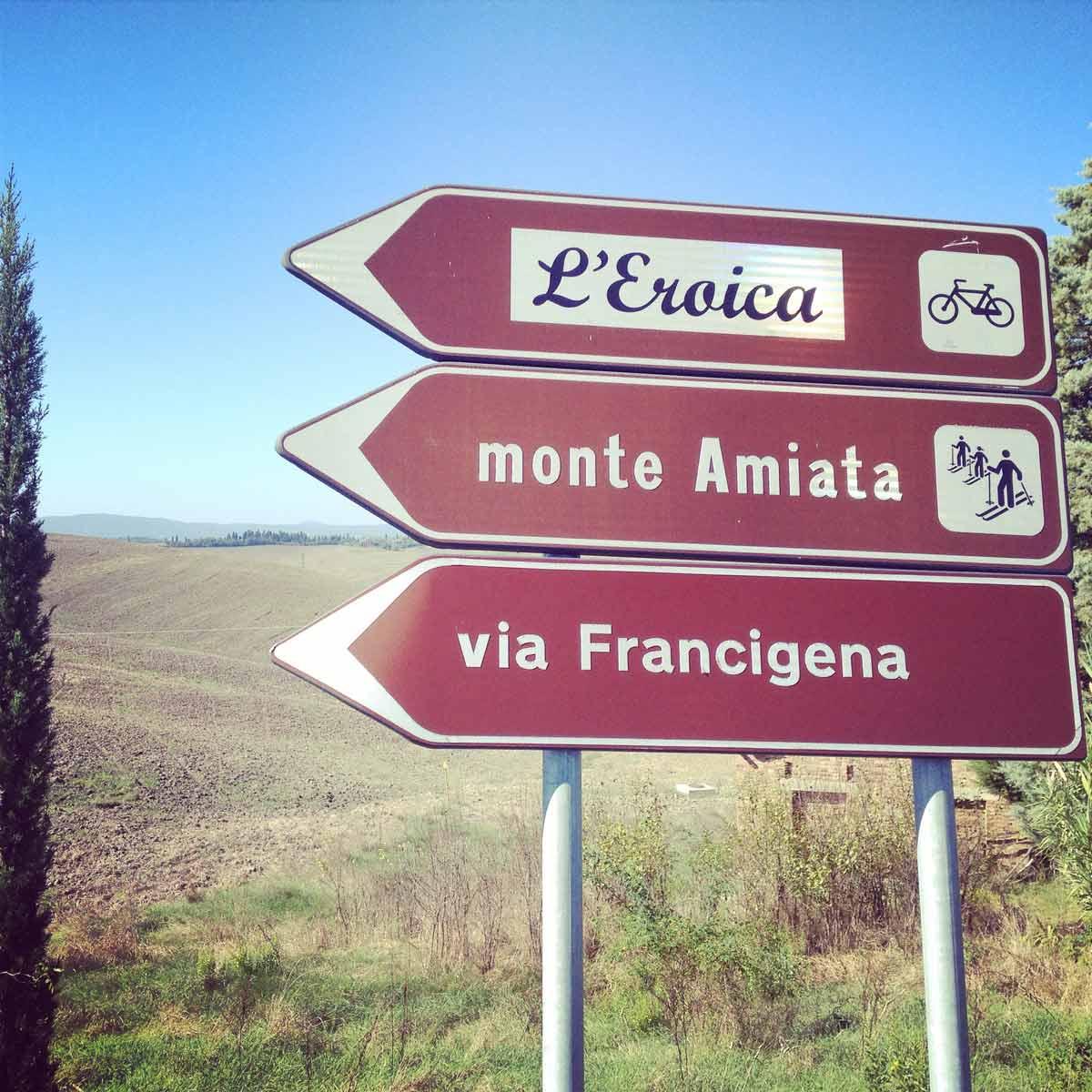 Francigena Press Tour // Via Francigena, L'Eroica, Monte Amiata: tre percorsi che s'incrociano