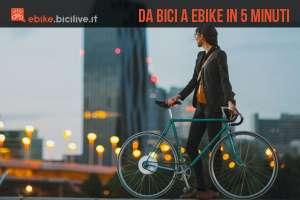 Trasforma la tua bici in un'ebike in 5 minuti con Smart Wheel