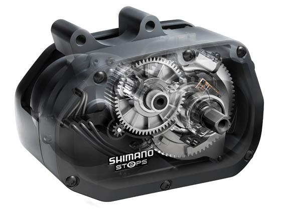 Il motore STEPS di Shimano