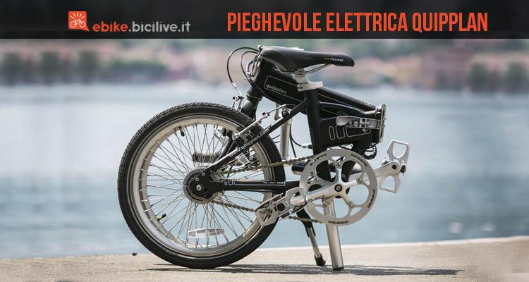 Bici pieghevole elettrica quipplan per tutti i giorni for Bici pieghevole elettrica usata