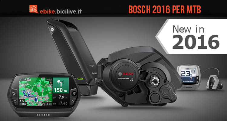 performance line cx bosch progetta un gran 2016 per le mtb. Black Bedroom Furniture Sets. Home Design Ideas
