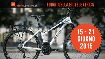 I Diari della bici elettrica: edizione 15-21 giugno 2015