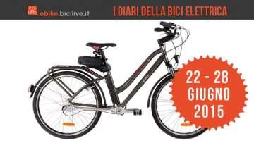 I Diari della bici elettrica: 22 - 28 giugno 2015