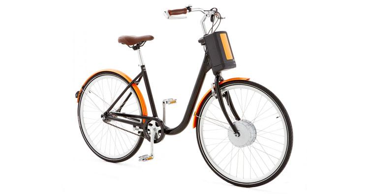 Una foto della bicicletta elettrica eB1 della Askoll