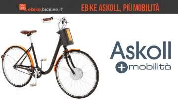 Il Gruppo Askoll si propone sul mercato delle ebike, le biciclette elettriche a pedalata assistita