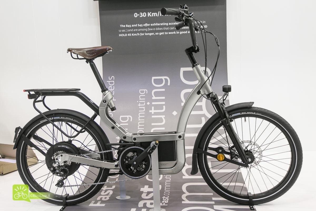 Eurobike Klever B45 bici elettriche 2016