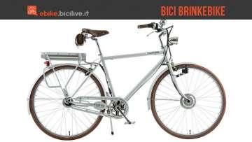 Immagine promozionale delle biciclette elettriche Brinkebike