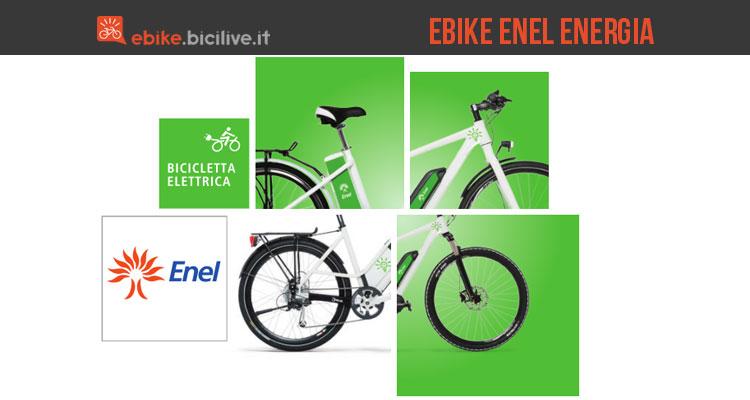 Immagine promozionale per le ebike di Enel Energia