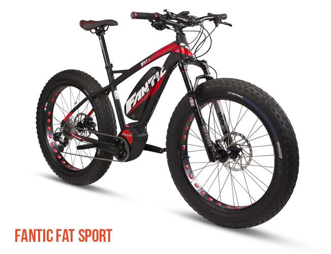 Una foto della ebike Fantic Fat Sport