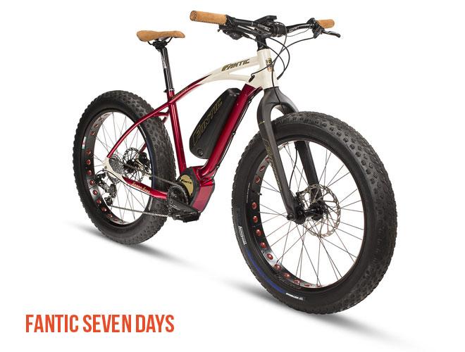 Una foto della ebike Fantic Seven Days