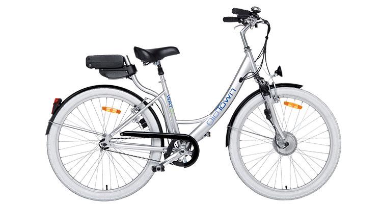 Una foto di una bici elettrica Wayel della serie Old Town