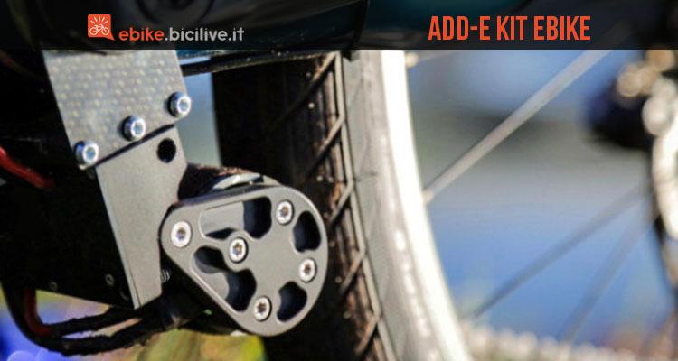 Add-e è un kit di conversione ebike per bici normali