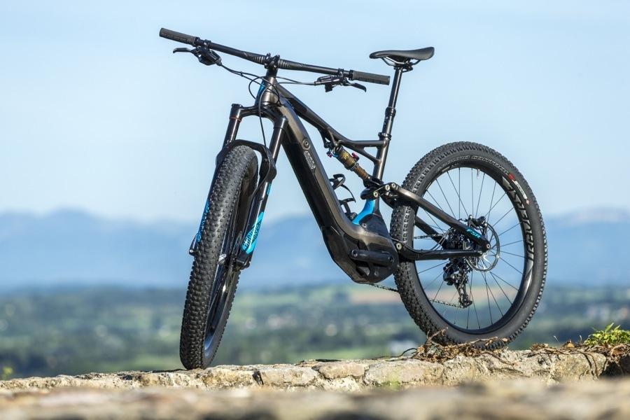 Una foto della mountain bike a pedalata assistita Turbo Levo Fsr 6Fattie