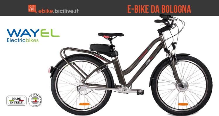 Immagine per la presentazione delle ebike Wayel, azienda di bici elettriche di Bologna.