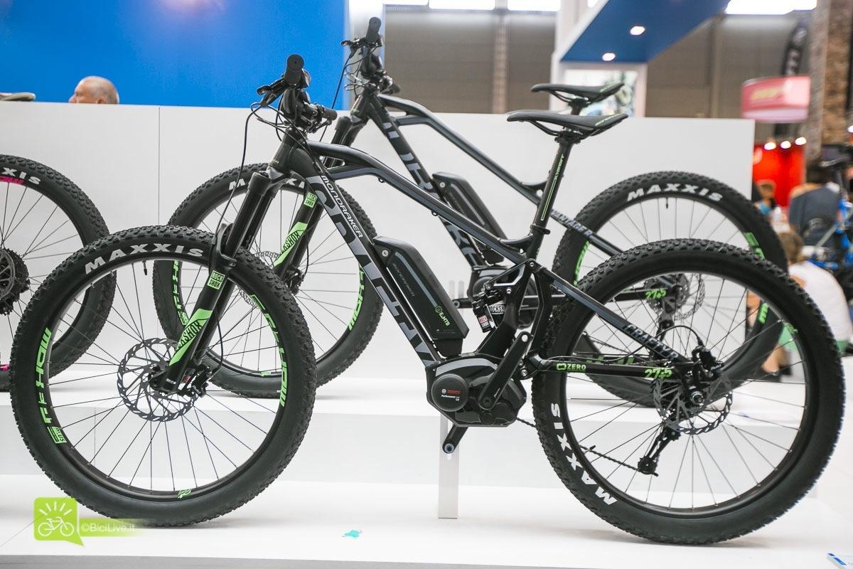 Eurobike Mondraker Krafty R 27.5 mtb elettrica 2016