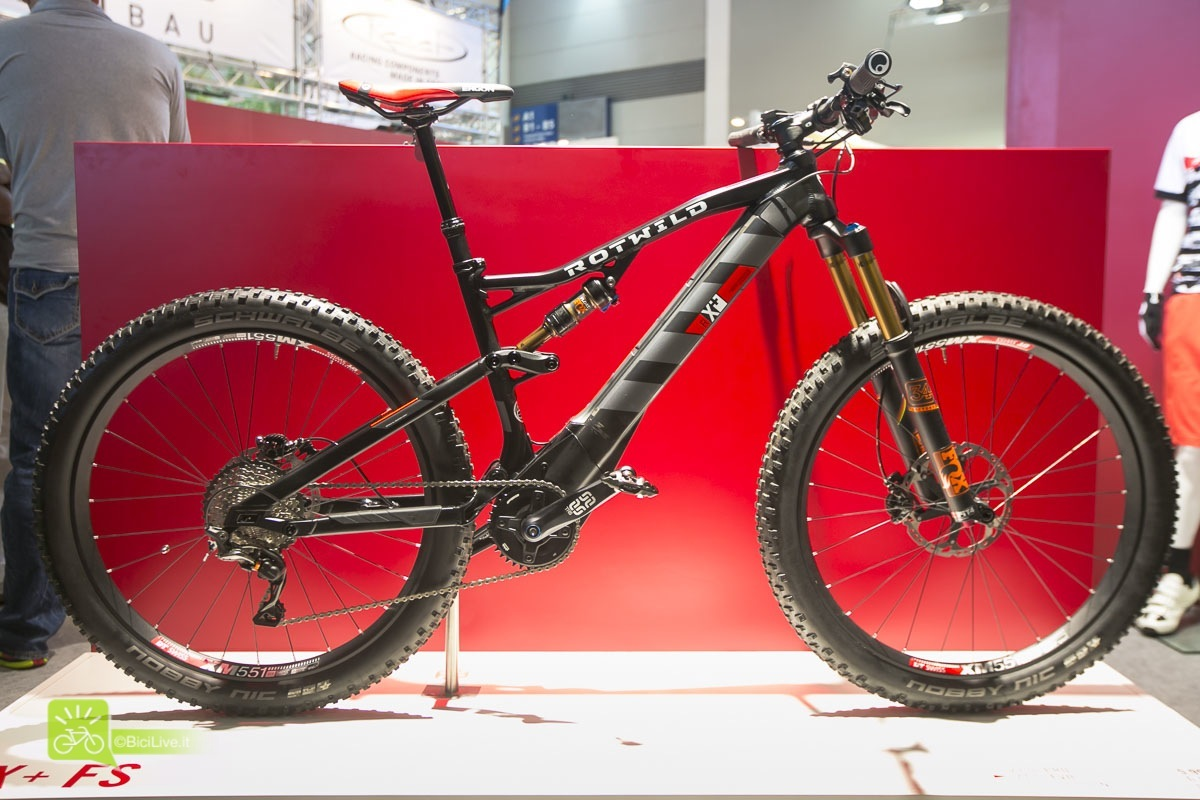 Eurobike Rotwild R X FS mtb elettriche 2016