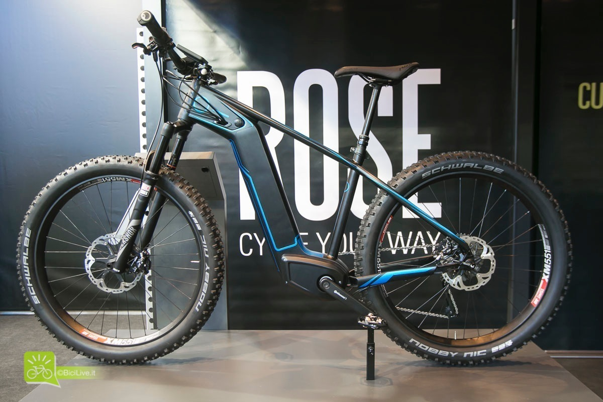 Eurobike rose mountain bike elettrica prototipe 2016