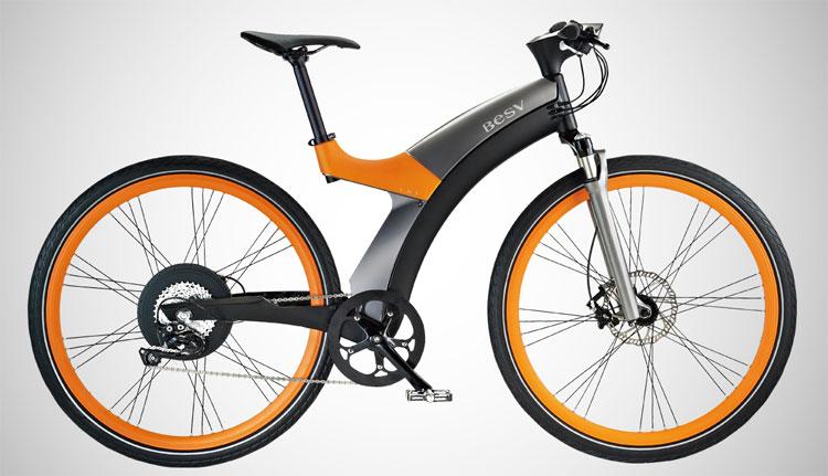 Una foto dell'ebike LX1, la più costosa bici elettrica di casa BESV