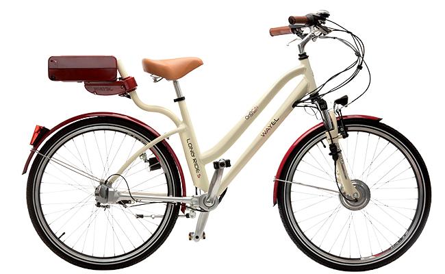 Una foto di una bici elettrica Wayel della serie OneCity Long Ride S