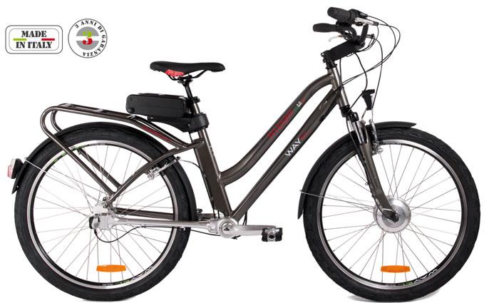 Una foto di una bici elettrica Wayel della serie Trilogia Poderosa