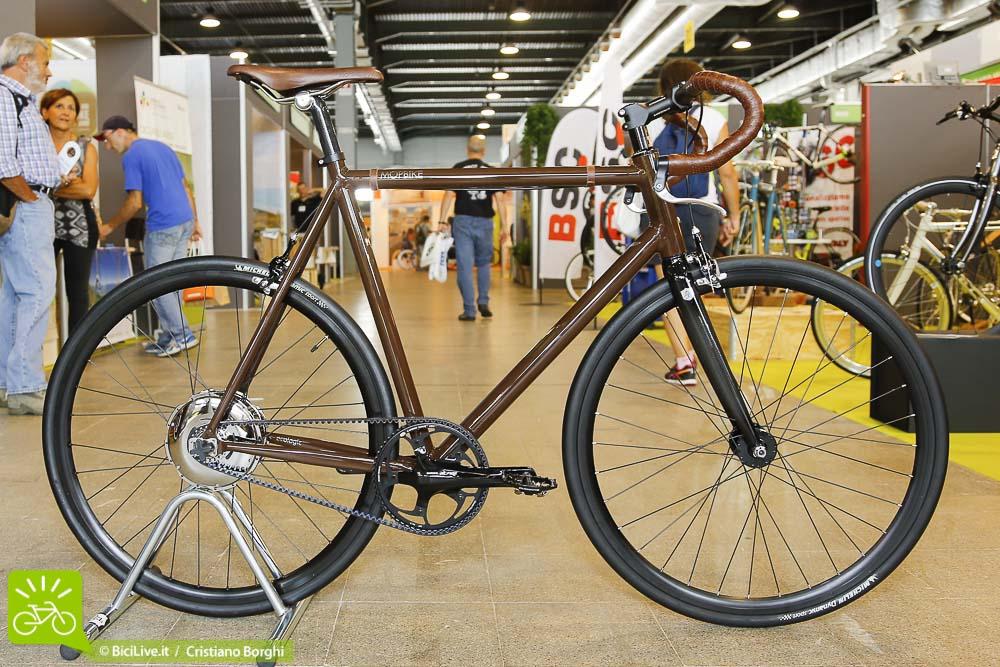 Bici-Elettrica MOPBIKE-Hybrid Cosmo Bike 2015 Top Ten