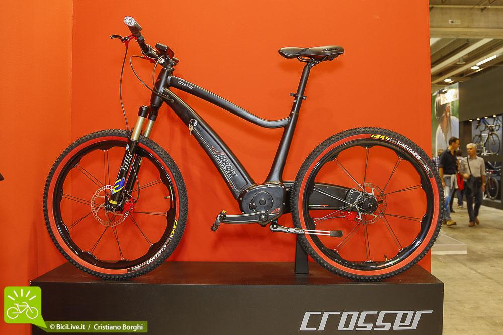 Bici-Elettrica Neox-Crosser Cosmo Bike 2015 Top Ten