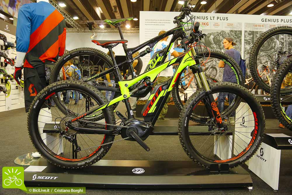 Bici-Elettrica Scott E-Genius Cosmo Bike 2015 Top Ten