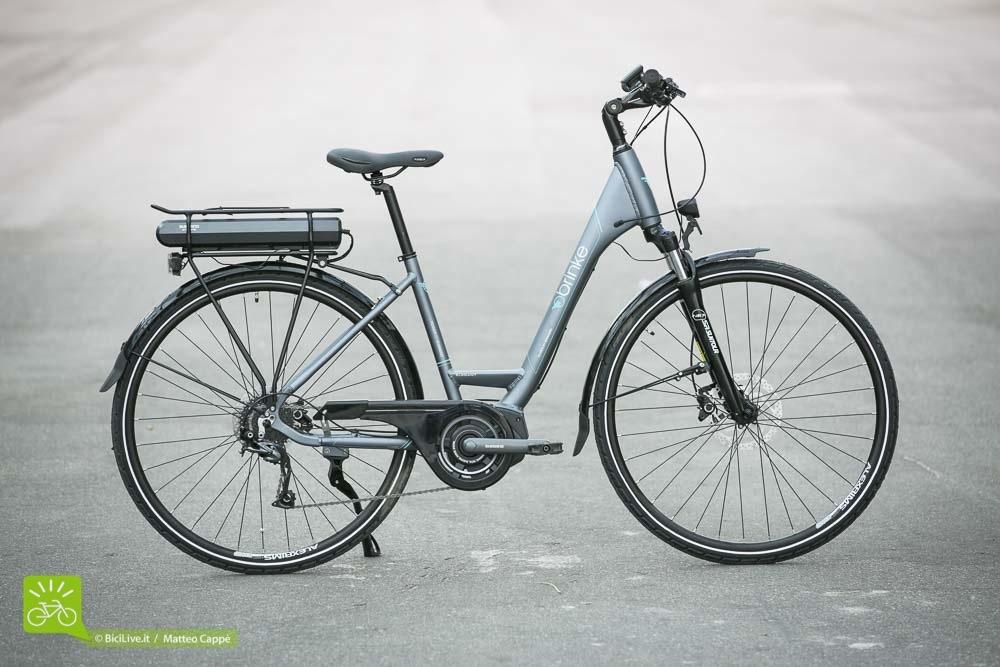 Una foto della bici elettrica Elysee 2016 della Brinke