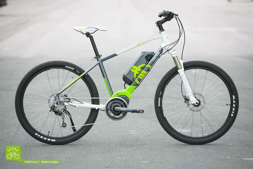 Una foto della bici elettrica Raptor 2016 della Brinke