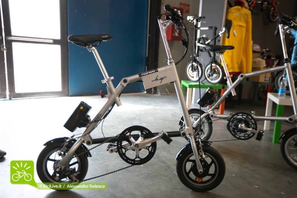 Bici Pieghevole Nanoo Prezzo.Speciale Bici Pieghevole Elettrica