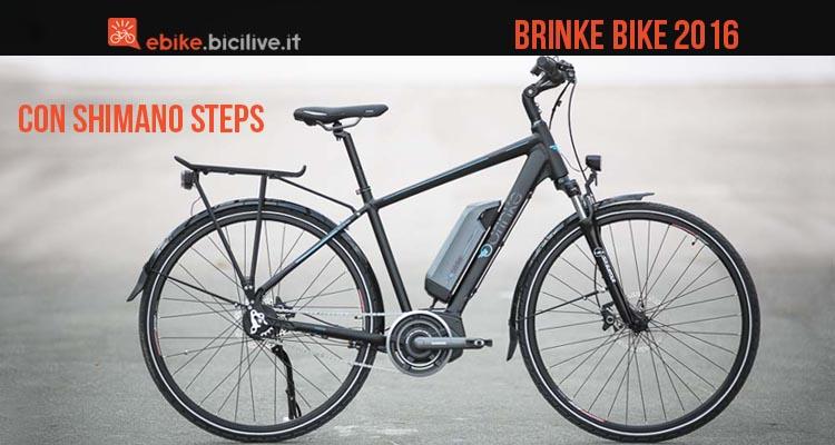 Una foto per le eBike di Brinke Bike equipaggiate con Shimano Steps e Di2