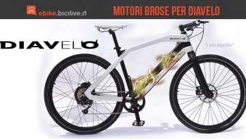 Una foto per le nuove bici elettriche Diavelo con motore Brose