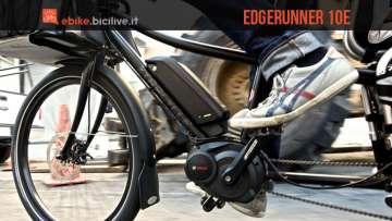 Una foto per la long tail ebike Edgerunner 10e della ExtraCycle
