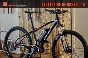 Una foto per le biciclette elettriche della serie 2016 Milanino di De Rosa