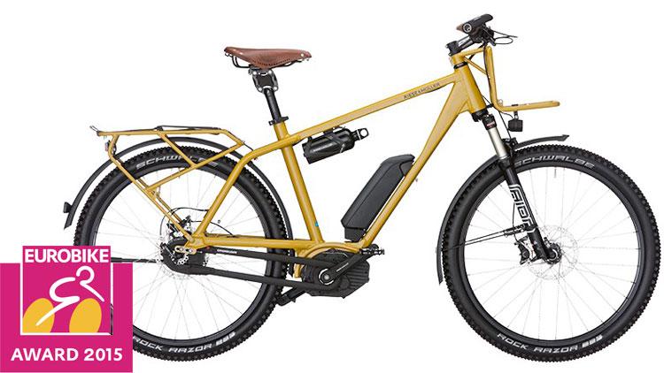 Una foto della bici elettrica Charger GX Rohloff