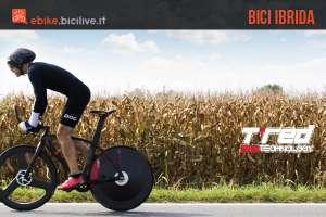 Una foto della bici elettrica T°RED BestiaNera Hybrid