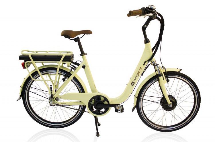 Una foto della bicicletta elettrica City 425 della Wayscral