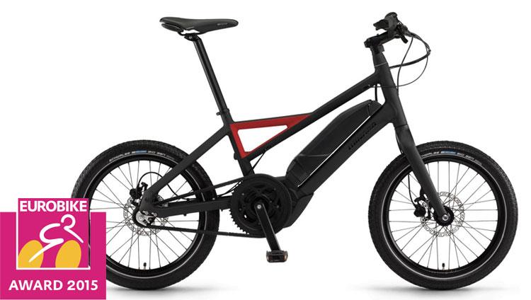 Una foto della bici elettrica Radius della Winora
