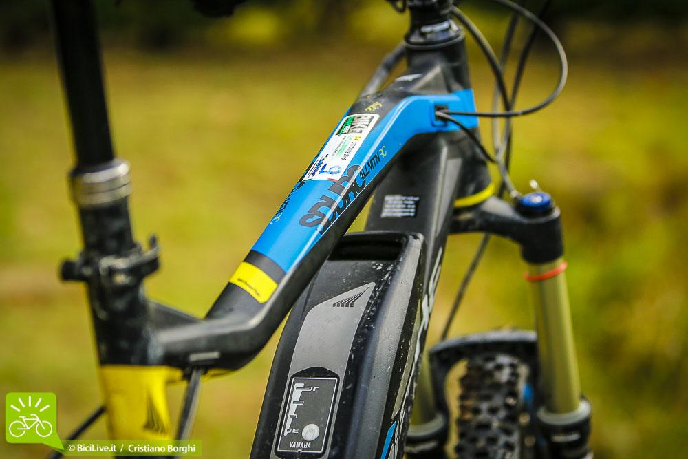 Il disegno del telaio è azzeccatissmo, ne consegue un bilanciamento generale della bici ottimale.