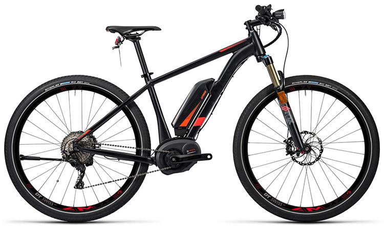 Una foto della mountain bike elettrica Cube SUV Hybrid 45 SL 500 29