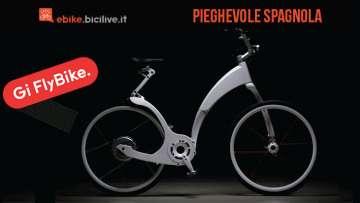 Una foto della e-bike spagnola Gi FlyBike.