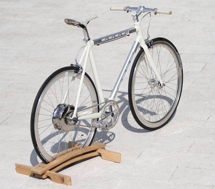La bicicletta e-Taddeo di Andrea Colussi